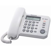 ანალოგური ტელეფონი Panasonic KX_TS2352UAW
