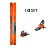 SKIS N ROCKER² 100 Orange 170 SET