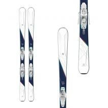 თხილამური SALOMON SKI SET E W-MAX 6 + E Lithium 10 W 148