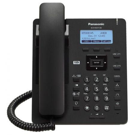 სტაციონალური ტელეფონი Panasonic KX_HDV130RUB